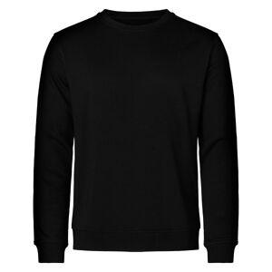 Resteröds Bamboo Sweatshirt - Black  - Size: 7040-14 - Color: musta