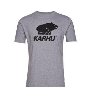 Karhu Basic Logo T-Shirt T-shirts Short-sleeved Harmaa Karhu