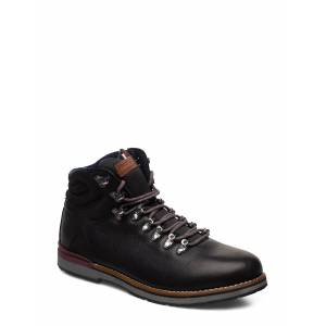 Tommy Hilfiger Outdoor Hiking Lace Boot Nyörisaappaat Musta Tommy Hilfiger