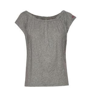 ODD MOLLY Dooer Top T-shirts & Tops Short-sleeved Harmaa ODD MOLLY