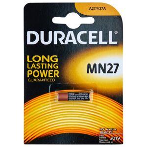 Batterier Duracell A27 12V Paristo 1 kpl
