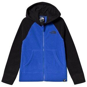 The North Face Color Block Glacier Full Zip Fleece Hoodie Blue/Navy XL (16 years +)