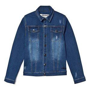 The BRAND Denim Jacket Stonewashed Blue 104/110 cm