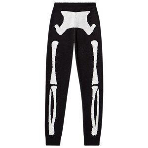 Beau Loves Skeleton Knit Pants Black 8-9 Years