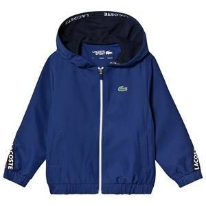 Lacoste Tennis Training Jacket Navy/Red 12 years