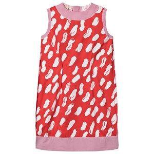 Marni Gea Print Dress Red 14 years