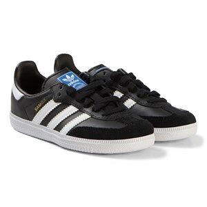 adidas Originals Black Samba OG Trainers Lasten kengt 31 (UK 12.5)