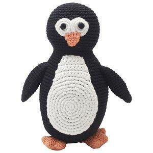 natureZOO Unisex First toys and baby toys Black Plush Sir Penguin