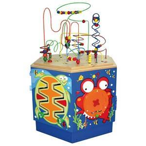 Hape Unisex First toys and baby toys Blue Coral Reef Activity Center