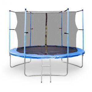 KLARFIT Rocketboy XXXL -trampoliini 400cm turvaverkko