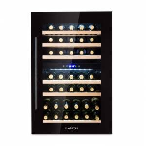 Klarstein Vinsider 35D Onyx Edition viinikaappi integroitava energiatehokkuusluokka C