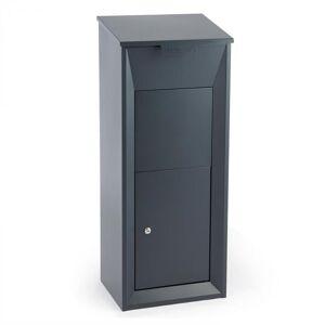Waldbeck Postbutler postilaatikko pakettilaatikko tummanharmaa