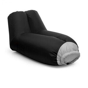 Blumfeldt Airlounge puhallettava sohva 90x80x150cm reppu pestävä polyesteri musta