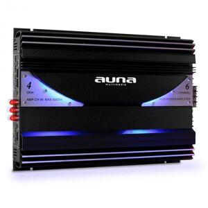 Auna AMP-CH06 6-kanavainen autovahvistin 5 000 W