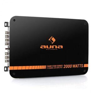 Auna Dark Star 2000 -autovahvistin 2-kanavainen 2000W RMS