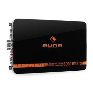 Auna Dark Star 6000 6-kanavainen autovahvistin 600 W RMS