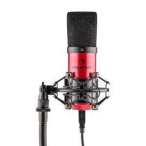 Auna MIC-900-RD USB kondensaattorimikrofoni punainen hertta studio