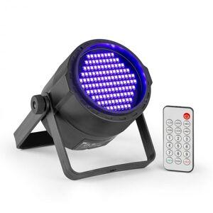 Beamz PLS20 Blacklight UV Par LED-valonheitin 120 x 3528 LEDit akku kaukosäädin
