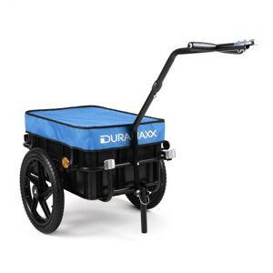 DURAMAXX Big Blue Mike -perävaunu pyörään korkea vetoaisa 70 l sininen