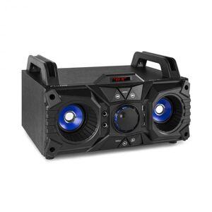 Fenton MDJ95 Party Station äänijärjestelmä bluetooth USB/SD/AUX akku musta