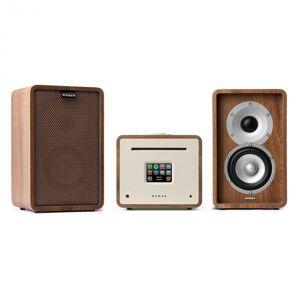 Numan Unison Retrospective 1979S Edition – stereolaitteisto vahvistin kaiuttimet + suojus