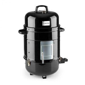 Klarstein Barney 3-in-1 BBQ-grilli sähkögrilli smoker 1800W 3x40cm lämpömittari