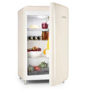 Klarstein PopArt-Bar kerma jääkaappi 136l retromuotoilu 3 tasoa vihanneslokero A+