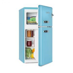 Klarstein Irene jääkaappipakastin 61-l-viilennysosa 24-l-pakastinlokero sininen