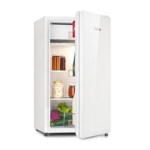 Klarstein Luminance Frost jääkaappi 91 l A+ viileä lokero 2 lasihyllyä valkoinen