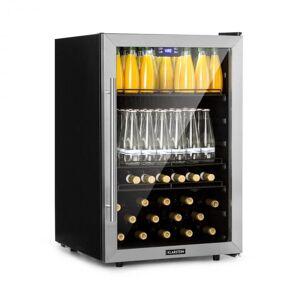 Klarstein Beersafe 5XL -juomajääkaappi 148 l A+ lasi ruostumaton teräs