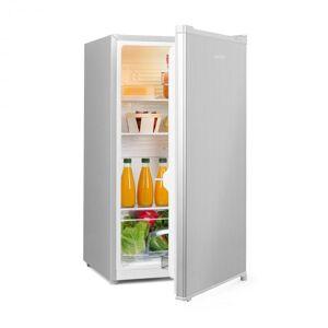 Klarstein Hudson jääkaappi A++ 88 litraa vihanneslokero hopea