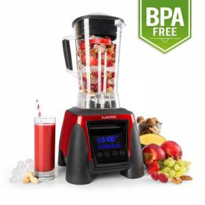 Klarstein Strawberry Hulk tehosekoitin 1800W 2 litraa 38.000 kierrosta/min punainen BPA-free