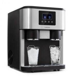 Klarstein Eiszeit Crush -jääpalakone 2 kokoa jäämurska hopea