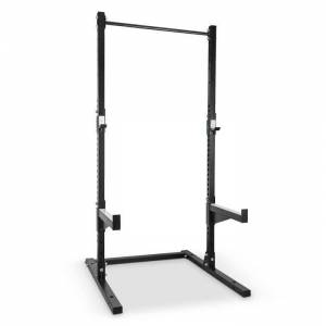 Capital Sports Rackster Half Rack 250 kg Single Bar jauhemaalattua terästä