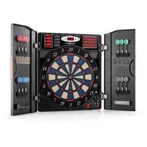 OneConcept Masterdarter darts-taulu darts-automaatti softtip ovet puujäljitelmä