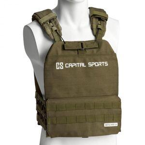 Capital Sports Battlevest 2.0 -painoliivi 2 x 8,75 lbs paino oliivinvihreä