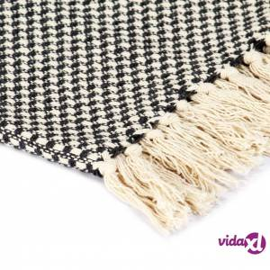 vidaXL Viltti puuvilla 220x250 cm antrasiitti