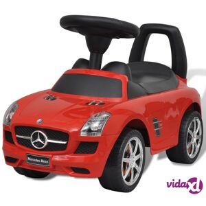 vidaXL Mercedes Benz Punainen Lasten Jalkakäyttöinen Auto