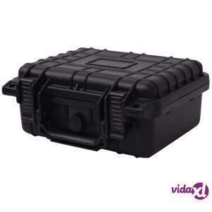 vidaXL Suojaava Varustelaatikko 27x24,6x12,4 cm Musta