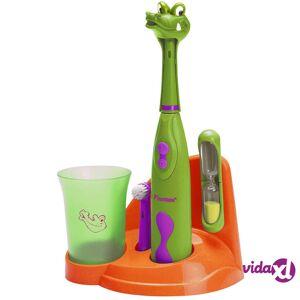 Bestron Lasten hammasharjasetti Krokotiili DSA3500A