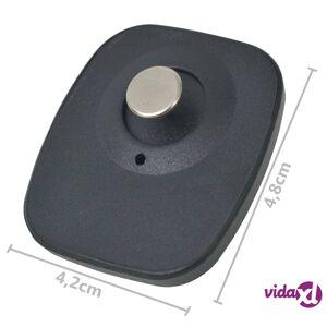 vidaXL RF kovat hälyttimet ja kiinnikkeet 2 000 kpl 8,2 MHz musta