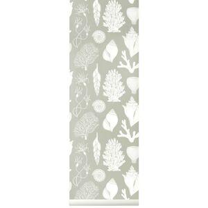 Ferm Living-Katie Scott Wallpaper Shells, Aqua
