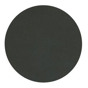 Lind DNA-Circle Glass Mat Nupo, Ø10 cm, Dark Green