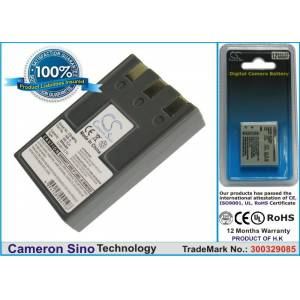 Cameron Sino Canon NB-1L  NB-1LH  ER-D100 yhteensopiva akku 830 mAh