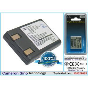 Cameron Sino Panasonic CGA-S101  CGA-S101A  CGA-S101A/1B  CGA-S101E  CGA-S101E/1B  CGA-S101SE  CGR-S101A  DMW-BC7 yhteensopiva akku 700 mAh