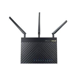 Asus RT-AC66U NORDIC WLAN Router AC1300/N900 802.11n Dual Band Gigabit
