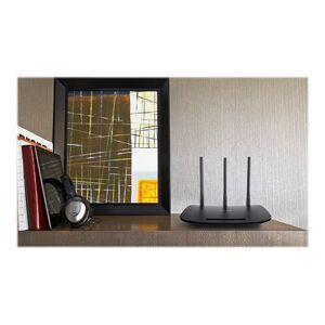 TP-Link 450Mbit/s WLAN N Router, QCOM, 2.4GHz, 802.11b/g/n, 1 10/100M WAN + 4 10/100M LAN, 3 feste Antennen