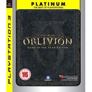 Elder Scrolls IV: Oblivion Game of the Year PS3 (Käytetty)