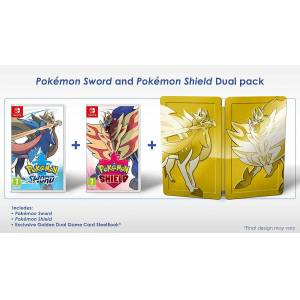 Pokemon Sword and Pokemon Shield Dual pack Switch (Käytetty)