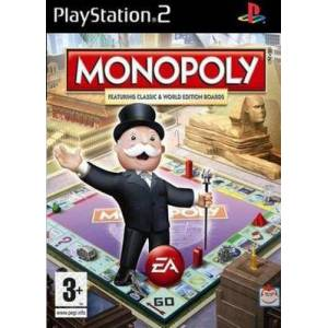 Monopoly PS2 (Käytetty)